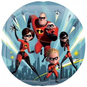 Incredibles 2 Cake Image