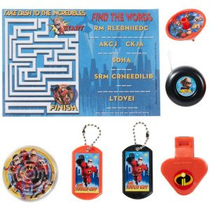 Incredibles 2 Favor Pack 48pc