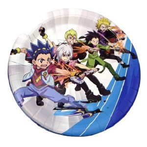 Beyblade Party Plate