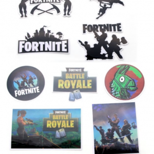 Fortnite Favor Stickers