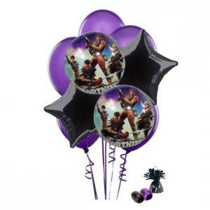 Fortnite Balloon Bouquet (Purple)