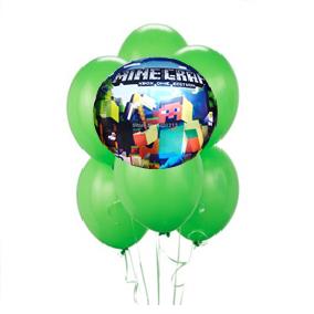 Minecraft Balloon Arrangement