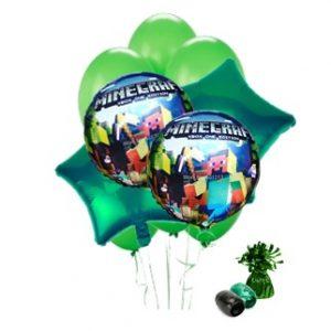 Minecraft Balloon Bouquet