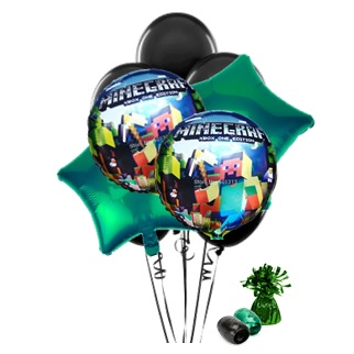 Minecraft Latex Mixed Balloons • My Party Box