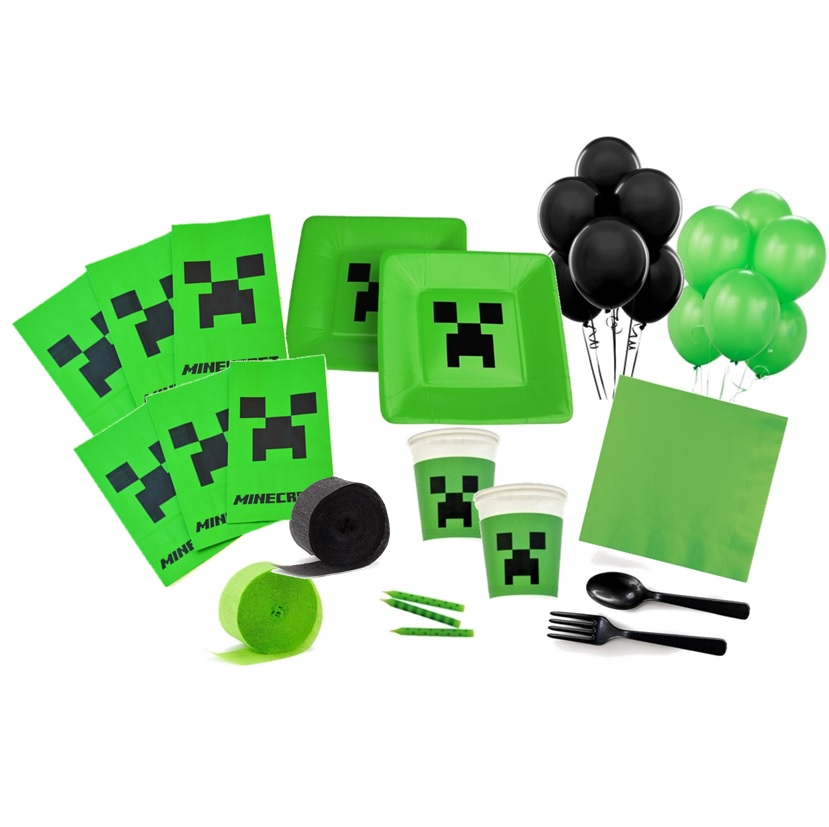 Minecraft Deluxe Party Pack