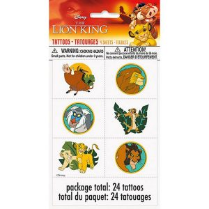 Lion King Tattoos Favors