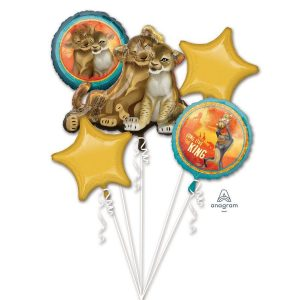 The Lion King 5pc Balloon Bouquet
