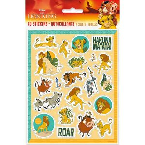 The Lion King Sticker Sheets (4)
