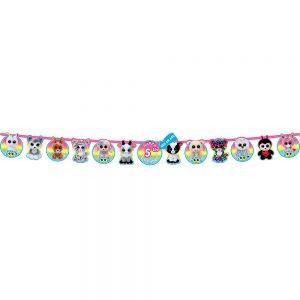 Beanie Boo's Birthday Banner