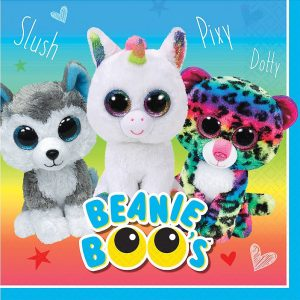 Beanie Boo's Paper Lunch Napkins