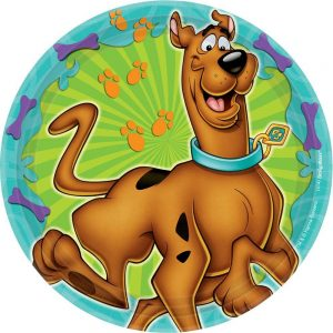 Scooby Doo Cake Plates