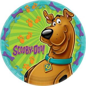 Scooby Doo Lunch Plates