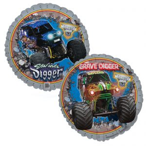 Monster Jam Foil Balloon