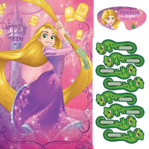 Tangled Rapunzel Party Game