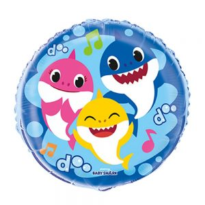 Baby Shark 18in Foil Balloon