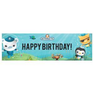 Octonauts Birthday Banner