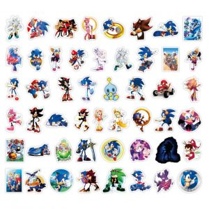 Sonic Party Stickers