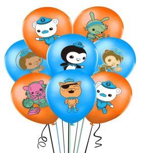 Octonauts Latex Balloons