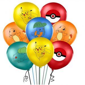 Pokemon Core Latex Balloons