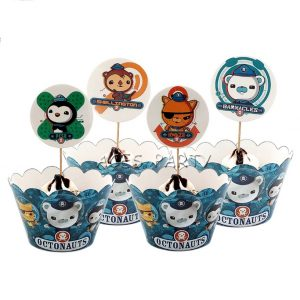Octonauts Cupcake Wrappers & Toppers