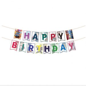 Beyblade Birthday Banner
