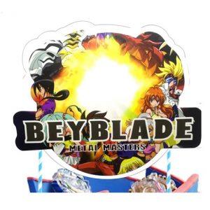Beyblade Cake Topper