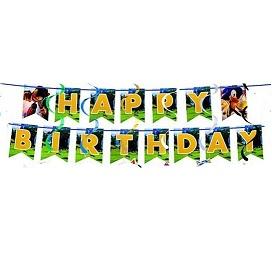 Sonic Birthday Banners